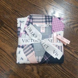 NWT Victoria Secret 2pcs pajamas size M